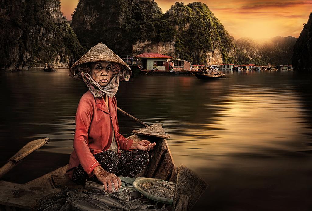 La peixatera de Halong