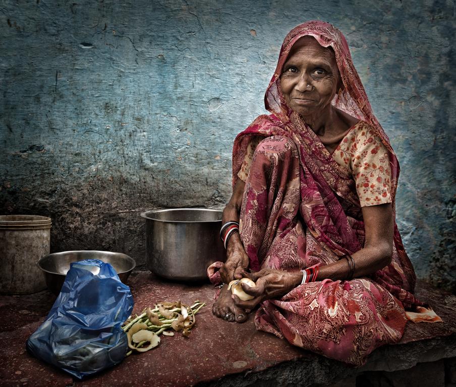 La cocinera de Agra