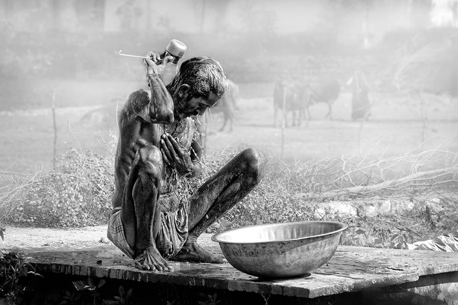 Baño indú