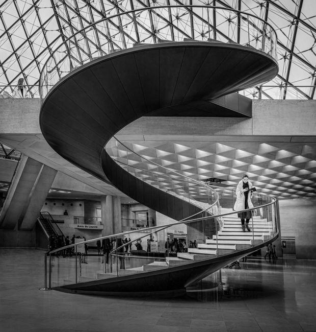 Escala del Louvre