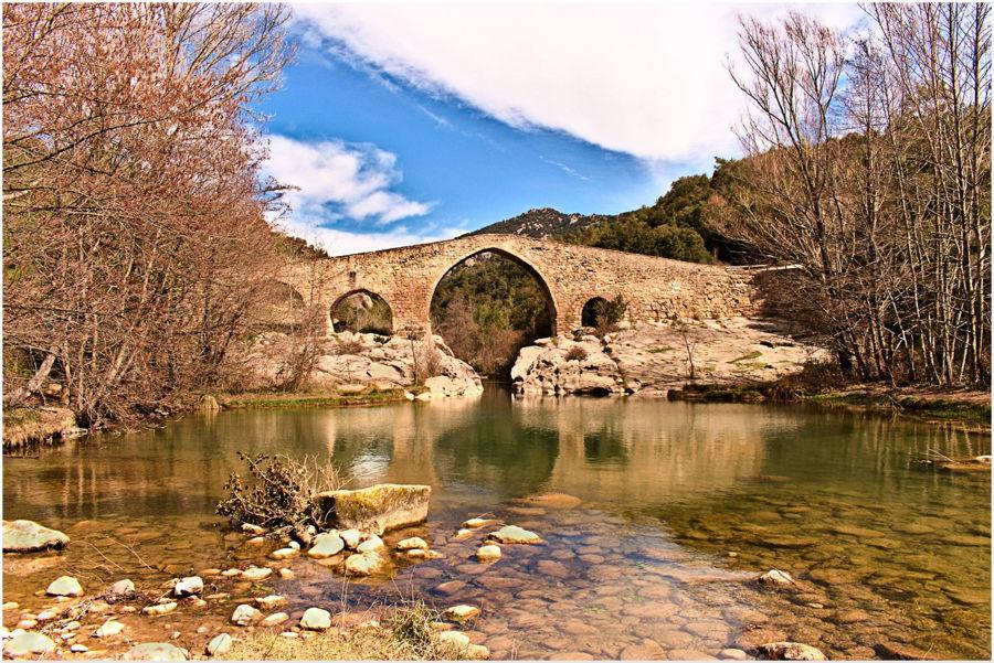 Bridge over quiet waters