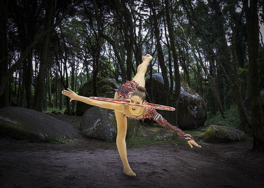 Danza en el bosque