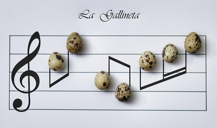 Partitura La Gallineta