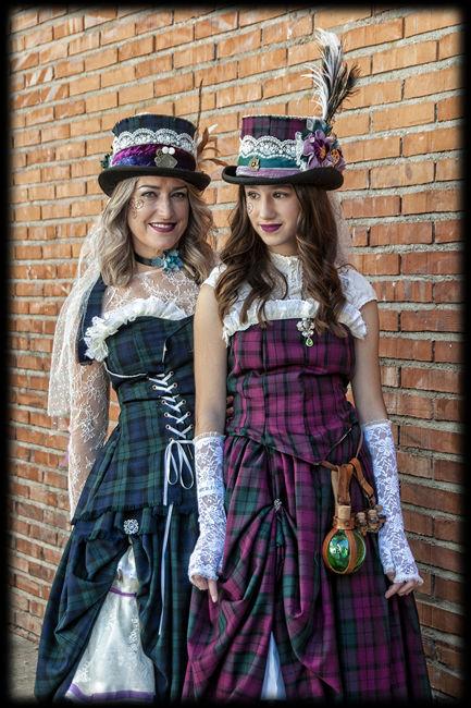 Dames steampunk