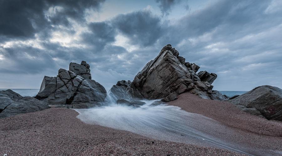 Riu de mar.