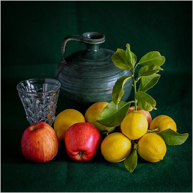 Frutas y Cantarilla