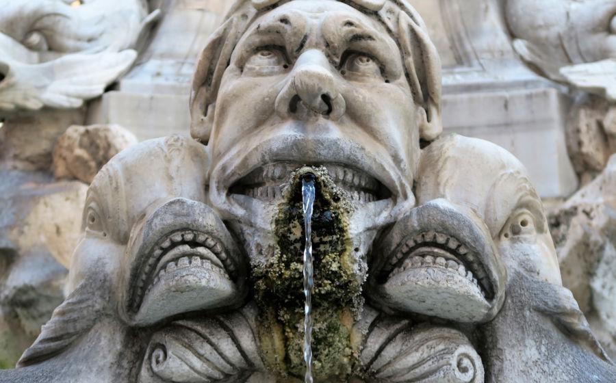 Fuente en Roma
