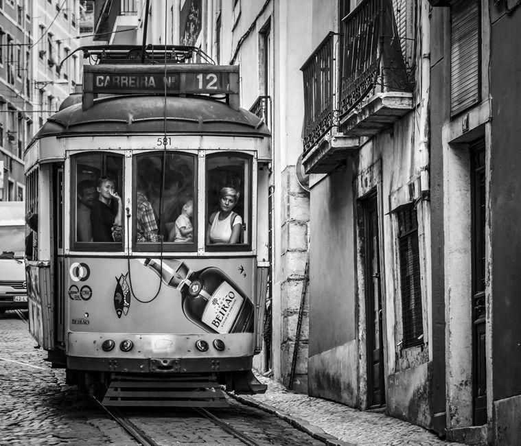 La dona del tramvia