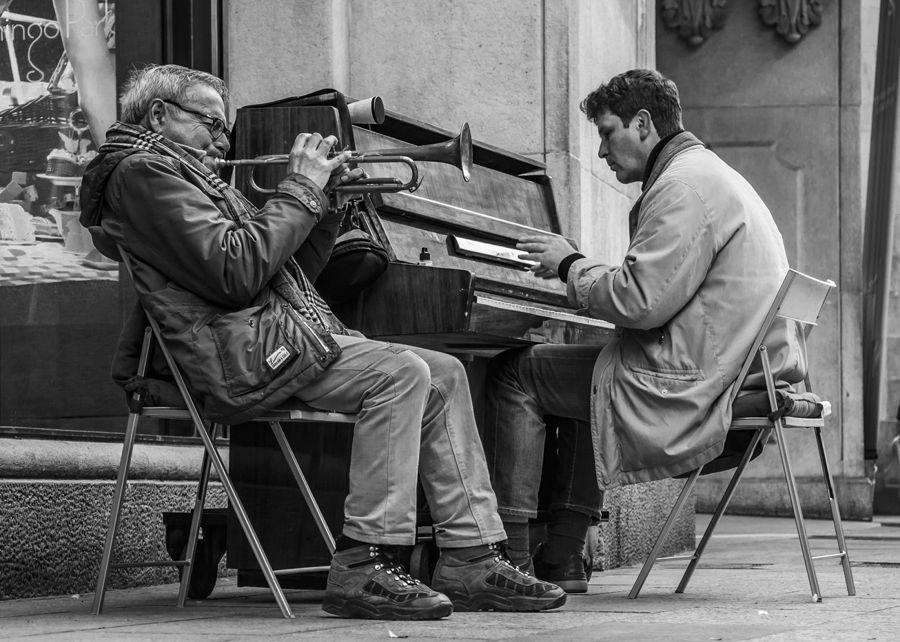 Músics de carrer