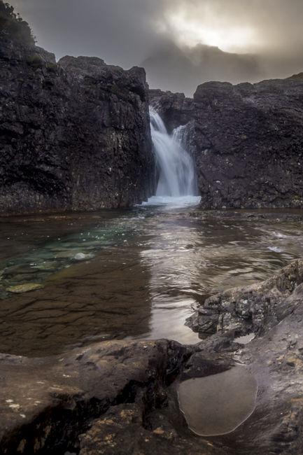 La cascada mistica