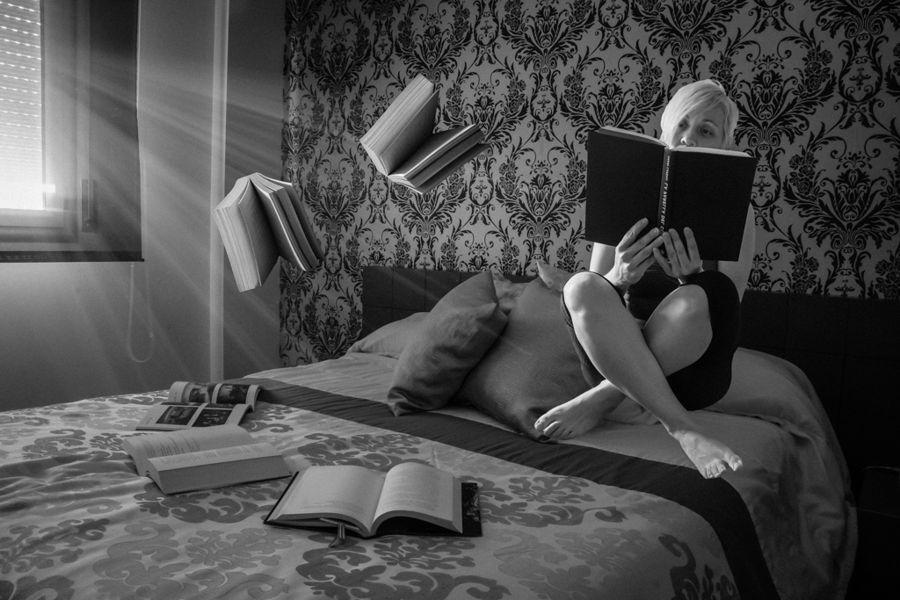 Levitació..la lectura ens deixa portar a un món màgic
