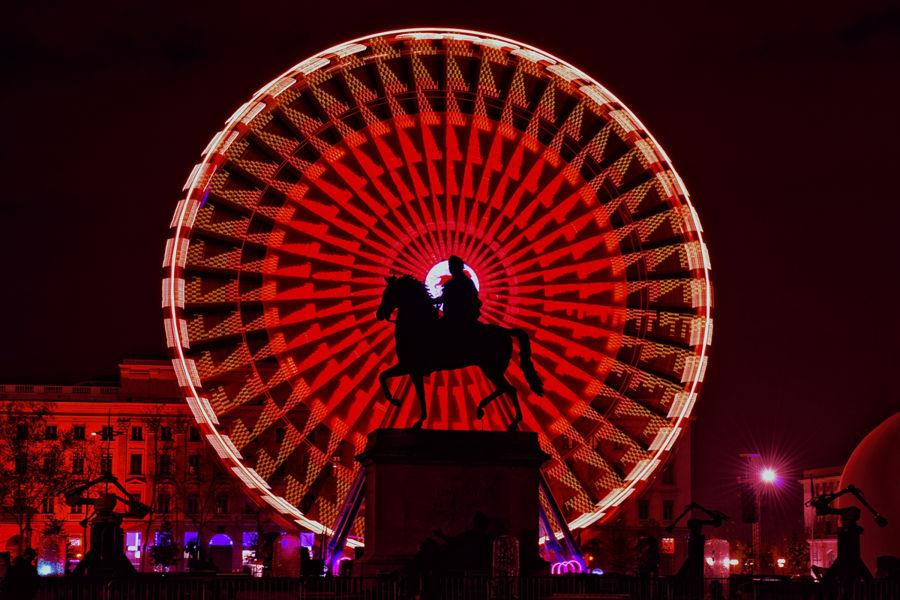 Louis XIV voit rouge