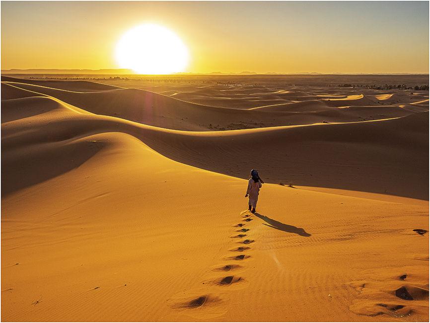 Posta de sol Desert