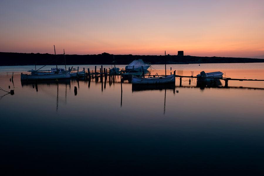 Barcas en calma