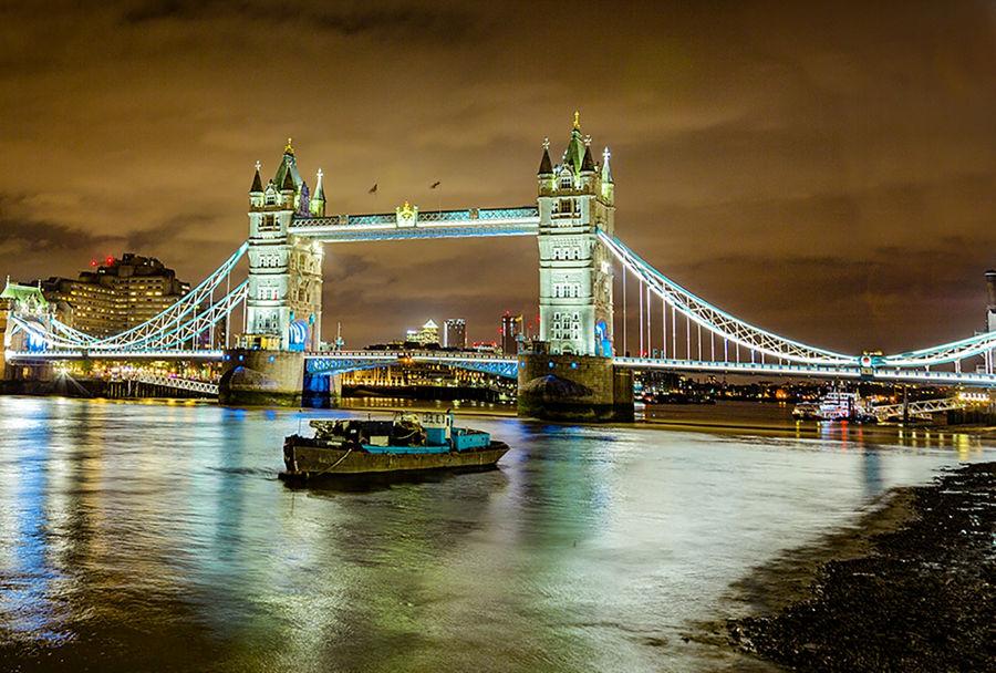 puente de londres nocturno