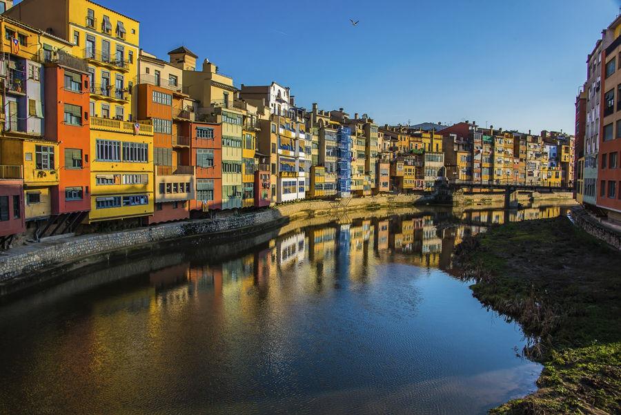 Reflejos en Girona