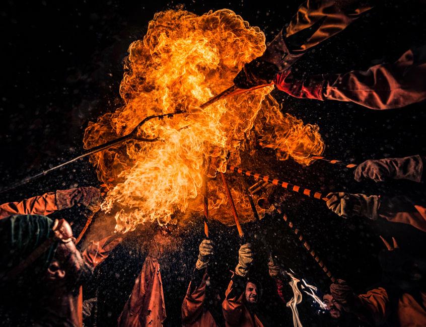 Sota el foc