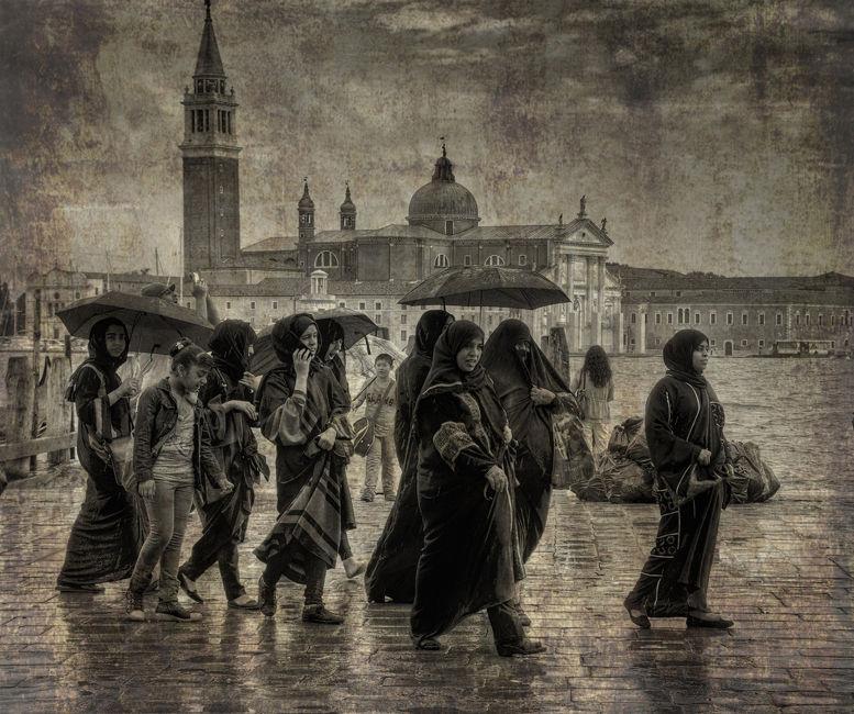 Turistes a Venecia