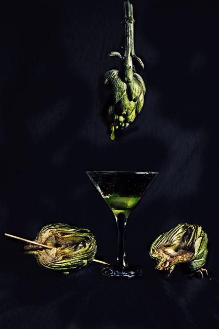 zumo de alcachofas