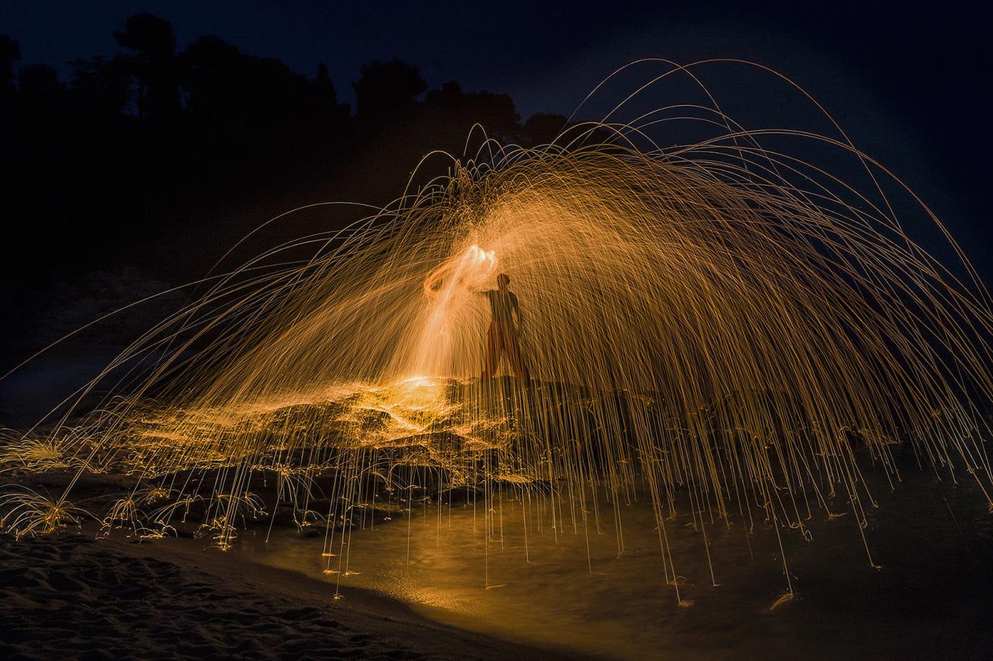 Bany de foc