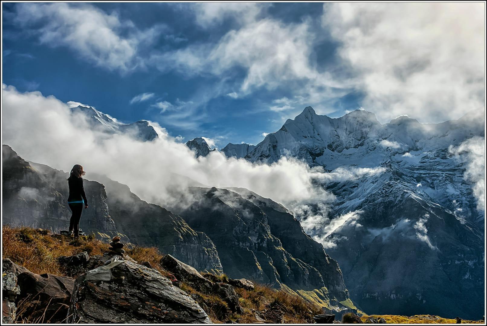 Camí a l'Anapurna