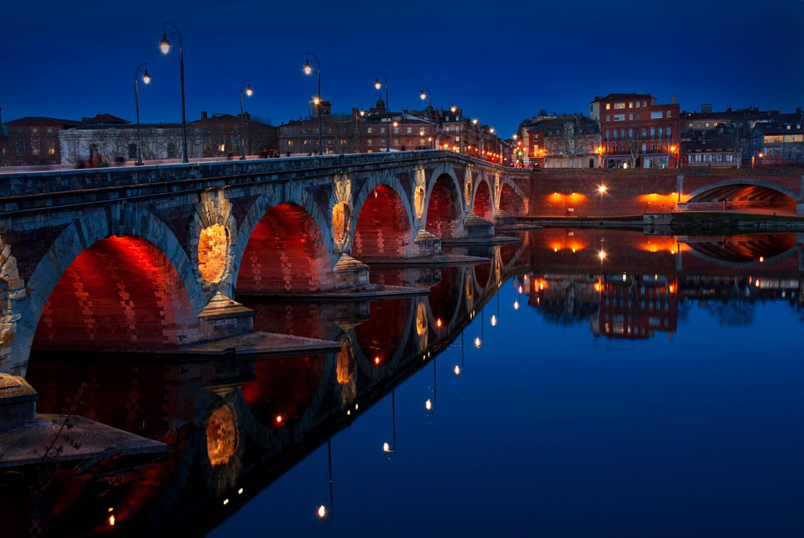 El Puente Nuevo de Toulouse