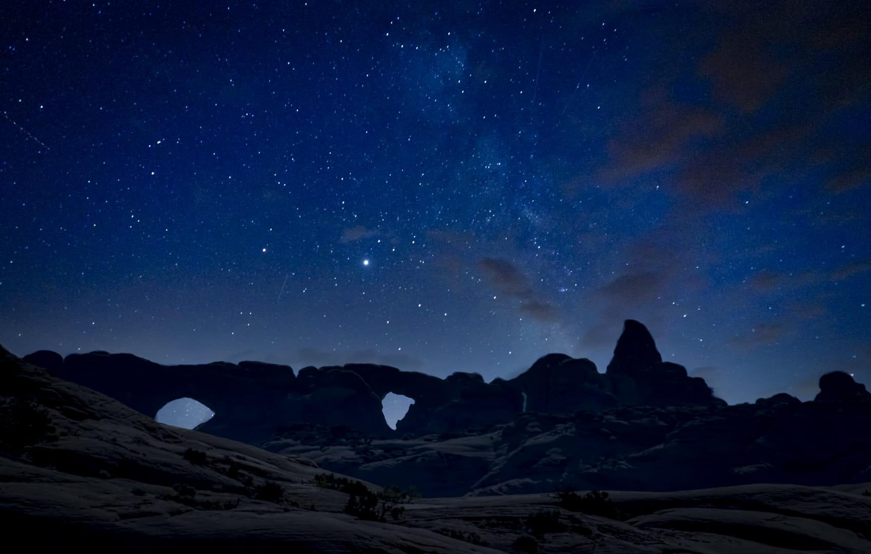Milky way rising
