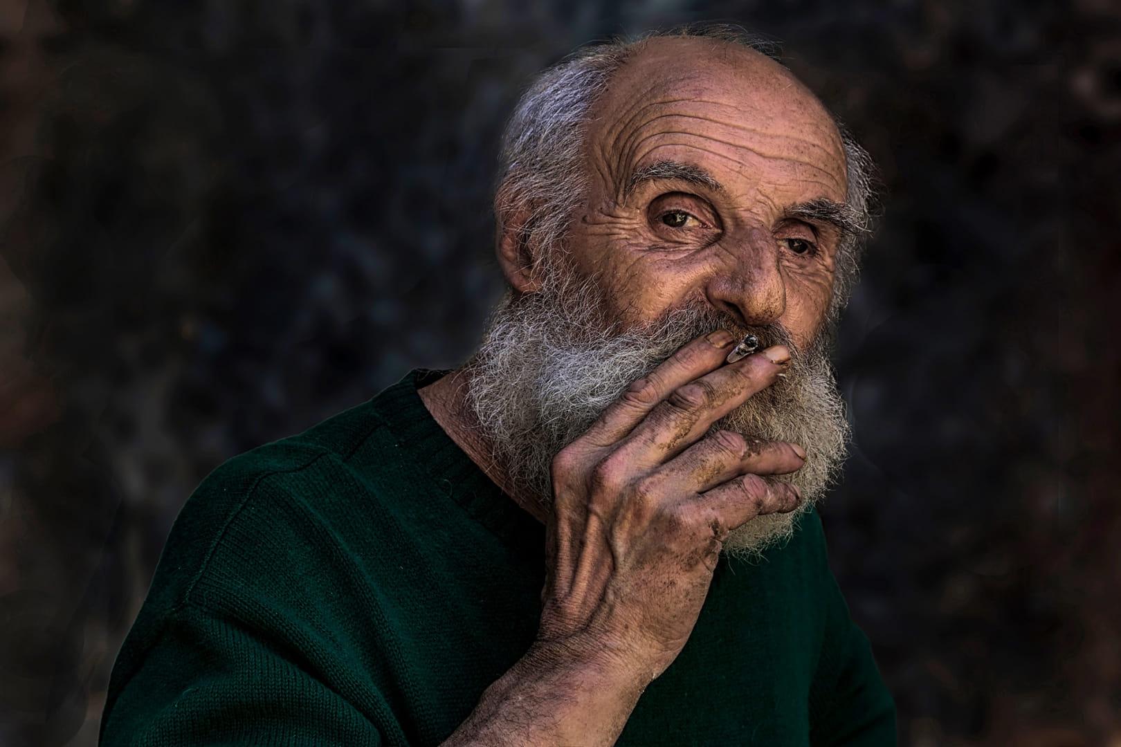 El vell fumador