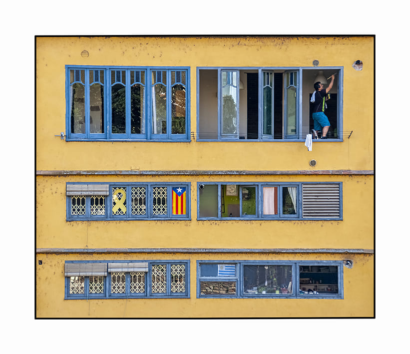 finestra indiscreta