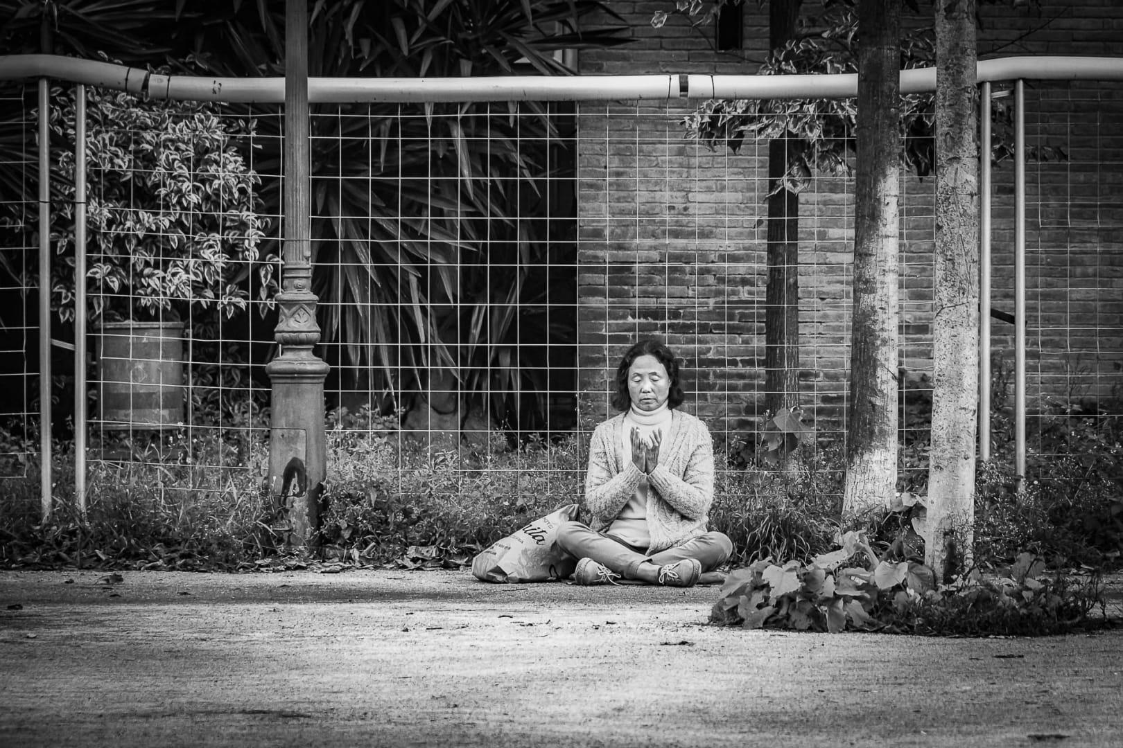Meditació de carrer