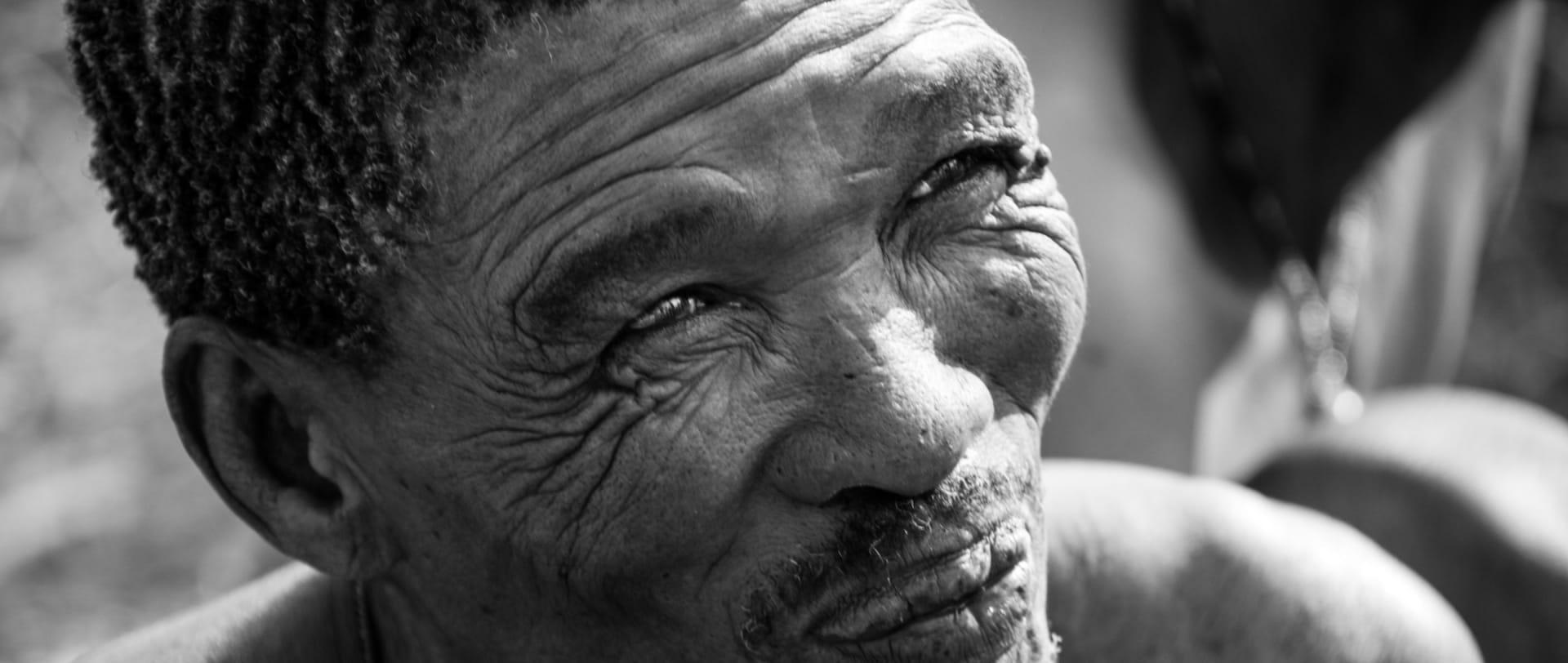 La mirada d'un caçador Bushman