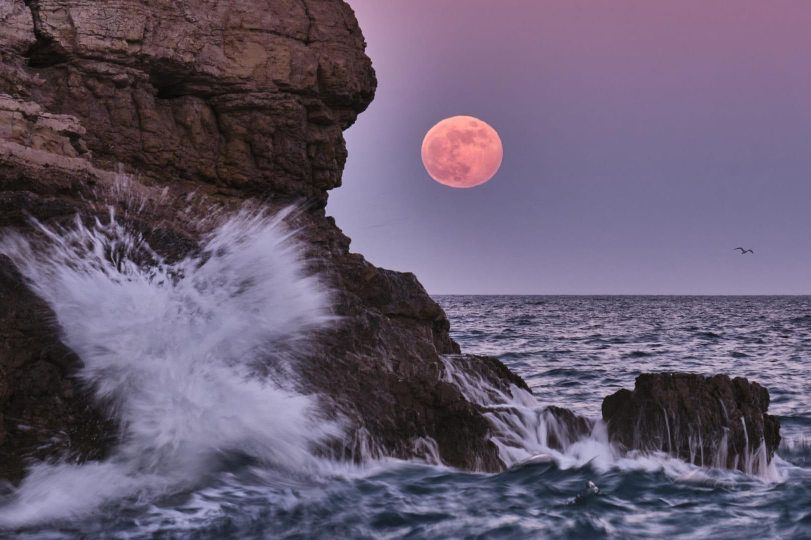 lluna de fresa