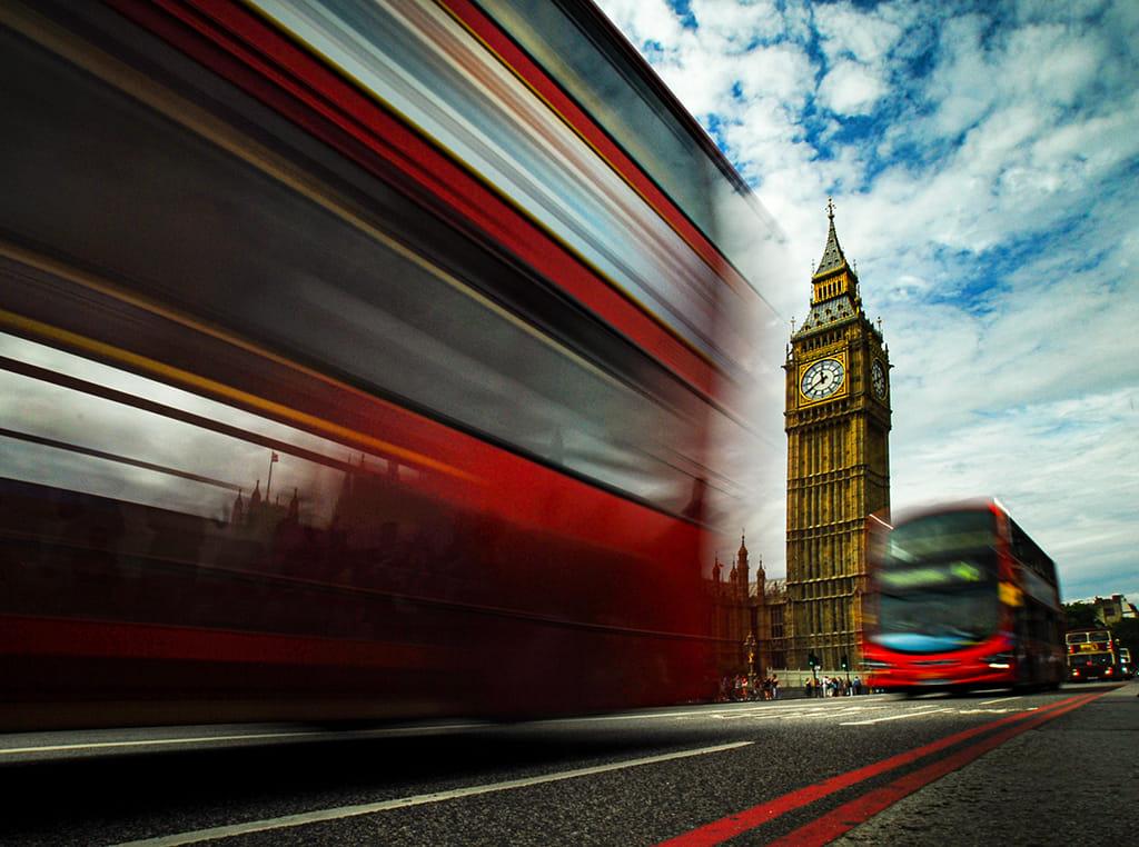 BUS OF LONDON