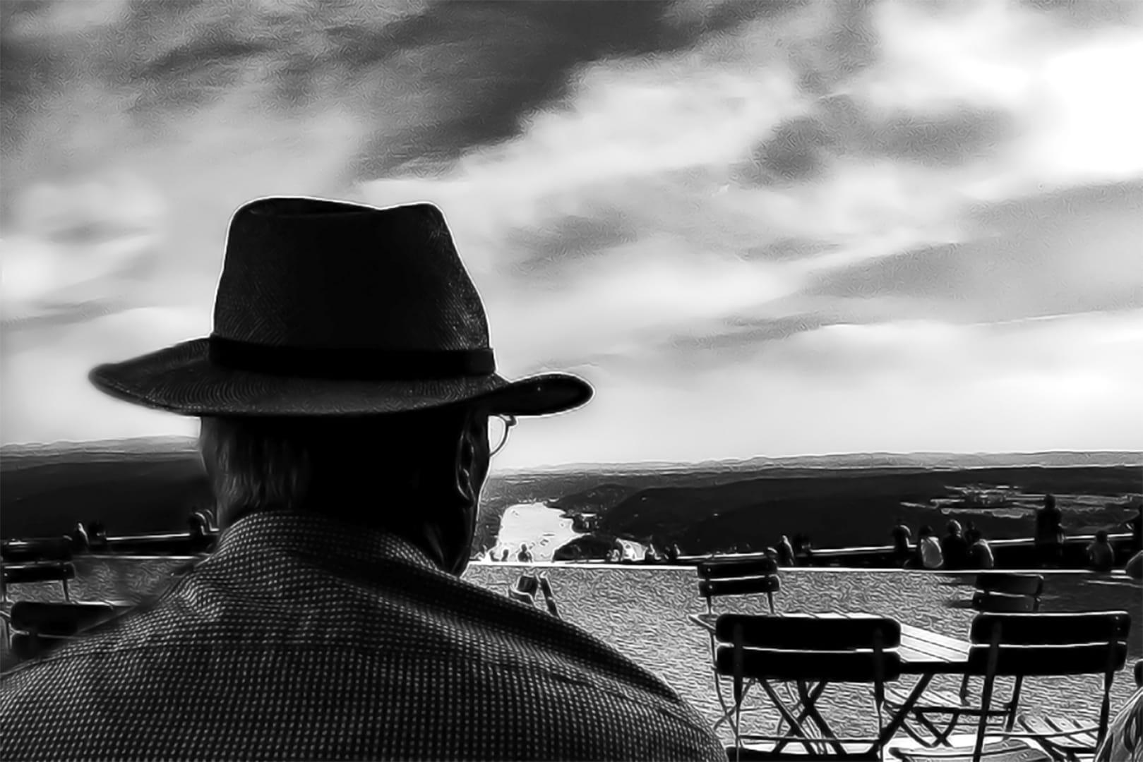mirant l'horitzó