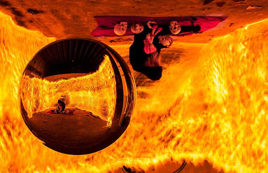 Reflexes del foc