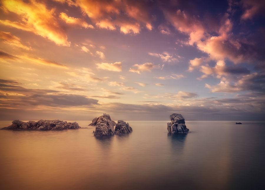 Amanecer en Lloret de Mar