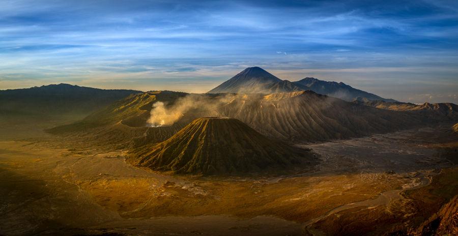 Bromo's  landscape