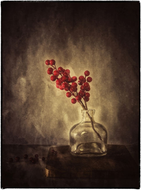 Gerra amb flor vermella 1