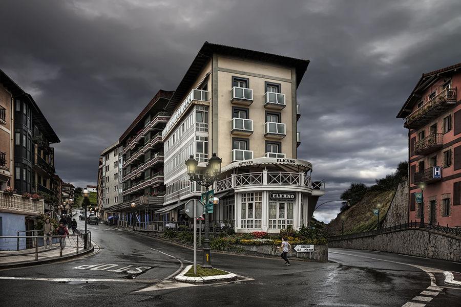 Rain in Getaria