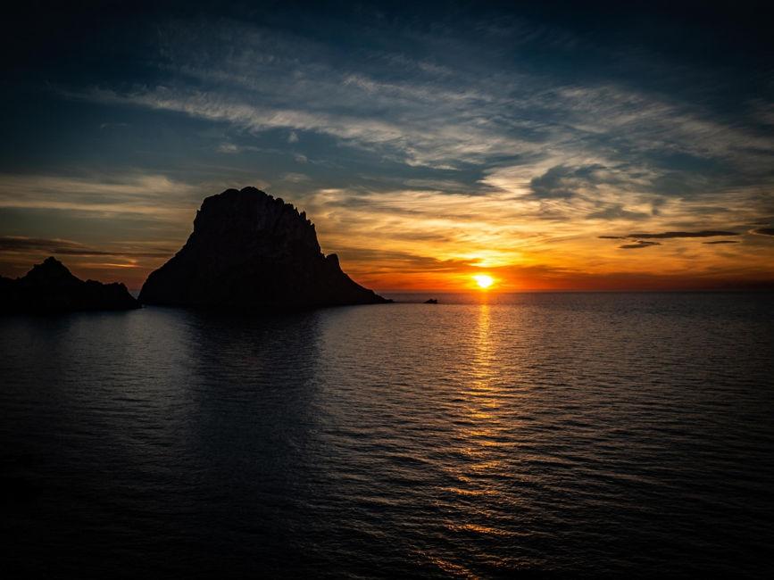 Winter Sunset in Ibiza