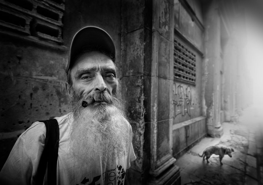 Niebla en La Habana