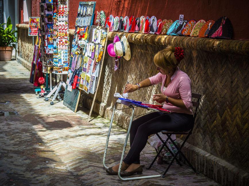 Artista callejera