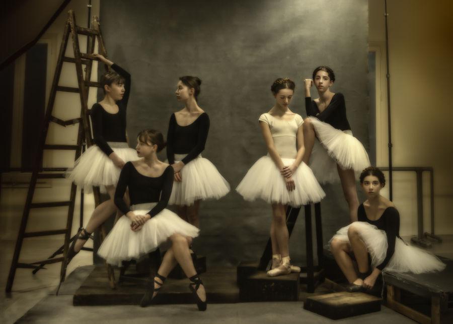 Ballet en pausa.