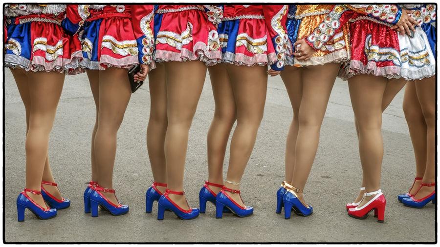 Zapatos a color