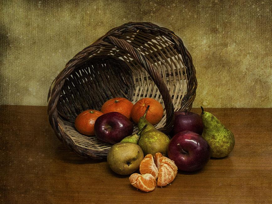 Cistella amb Fruita
