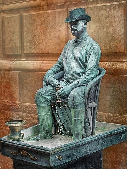 Estatua de carrer