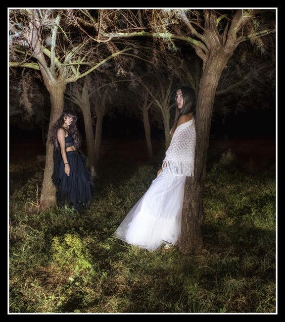 las chicas del  bosque