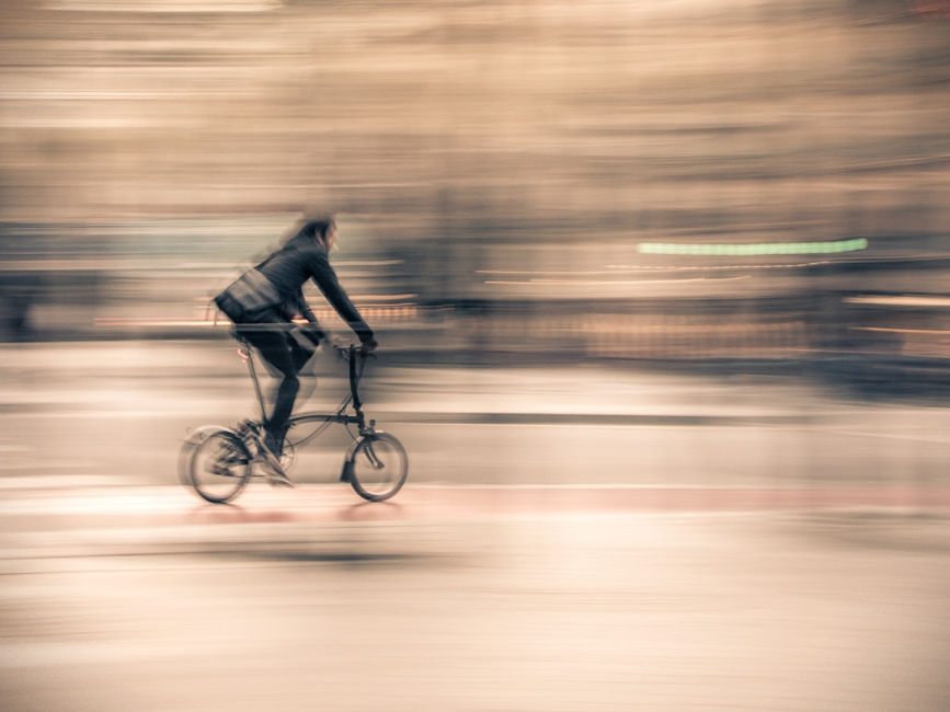 Le vélo en mouvement