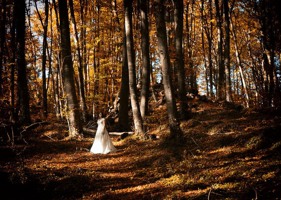 Mariage avec la nature