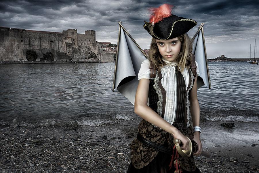 Niña pirata